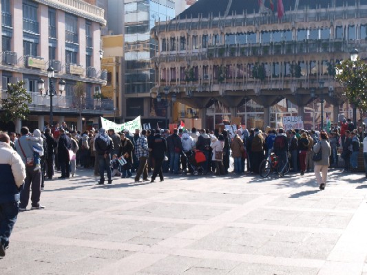 Pro-Palestinian Demo in Ciudad Real